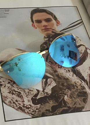 Зеркальные очки хамелеон