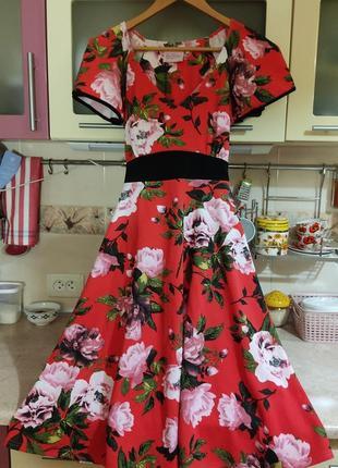 Новое, с биркой яркое платье с принтом р. xs, xxs, s