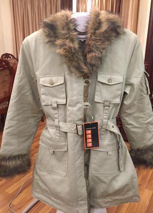 Осталась 1 куртка-пальто польша