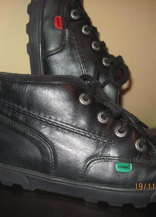 Полуботинки ботинки kickers демисезонные 39 р-р