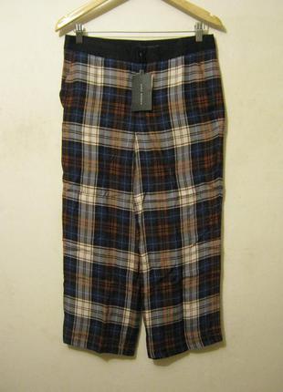 Zara шелковые брюки новые арт.133