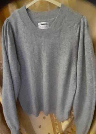 """Кашемировый свитер женский,  цвет """"мокрый асфальт """" 100% кашемир. бренд - part two.дания."""