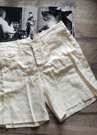 Шикарные льняные шорты ralph lauren! оригинал!