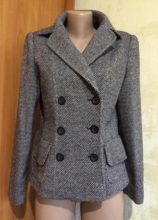 Шерстяной жакет,пиджак,пальто!огромный выбор новой одежды!скидки!