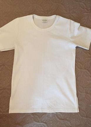 Фактурная  удлиненная футболка canda c&a