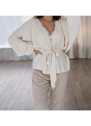 Свободная легкая блузка