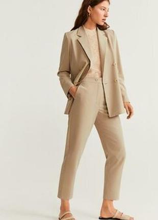 Бежевый удлиненный пиджак ,блейзер belle surprise