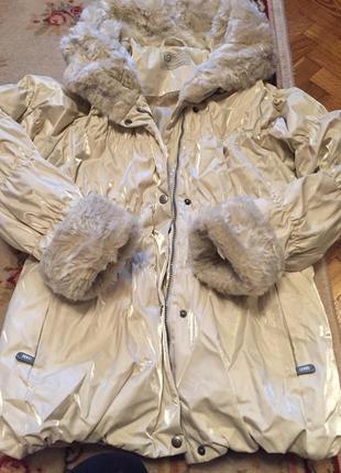 Зимнюю курточку lenne р.164см