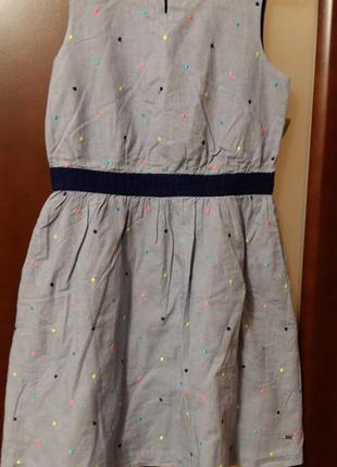 Классное платье для девочки ф.tommy hilfiger (оригинал)