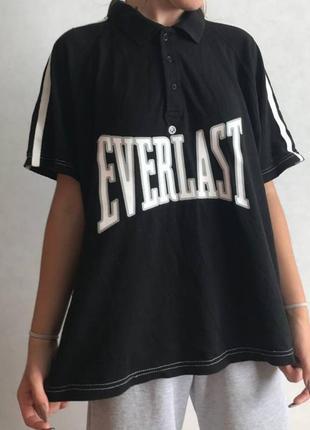 Редкая винтажная футболка поло everlast