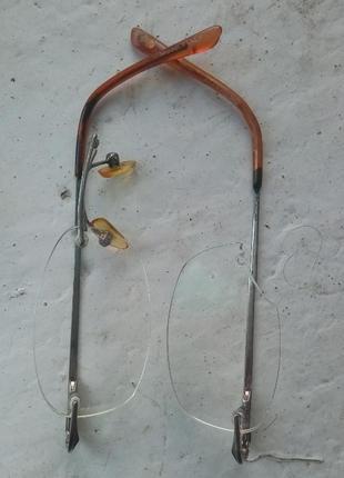 Очки с диоптрией на заапчасти