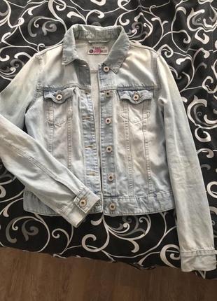 Джинсовка джинсовая куртка