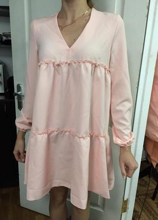 Миле персикове плаття