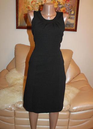 Шикарное плотное платье карандаш футляр, утягивающее, размер m l