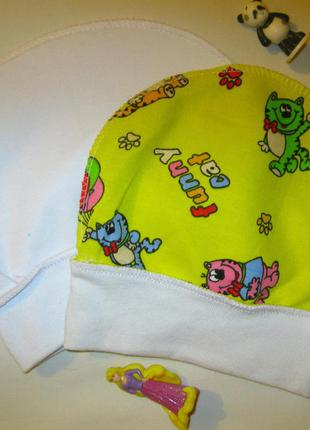 Набор из 2 детских шапочек для малышей