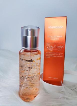 Витаминная эссенция с экстрактом апельсинового цветка mamonde vital vitamin essence 100 мл
