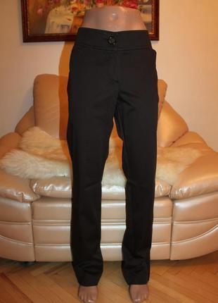 Классные брюки шоколадного цвета в размере m l, подчеркивают фигуру, очень удобные