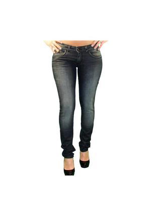 Джинсы pepe jeans в сером цвете.
