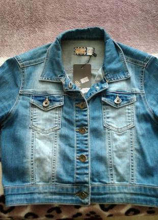 Женский джинсовый пиджак dilvin