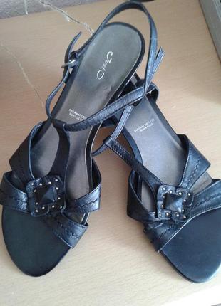 Черная пятница! кожаные босоножки janet d., оригинал, 26 см