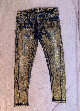 Итальянские женские джинсы мега стильные джинсы
