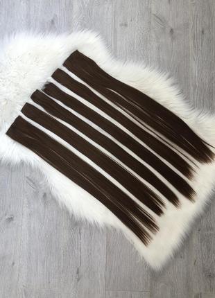Синтетические волосы тресы накладные волосы