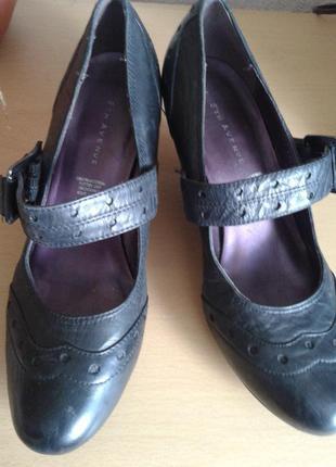 Черная пятница!!! удобные кожаные туфли 5 авеню, 26 см