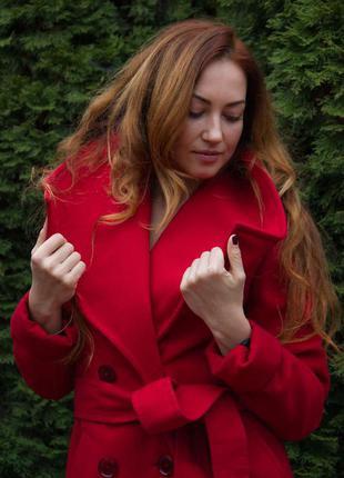 Шикарное демисезонное пальто.
