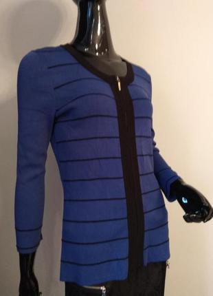 Стильная кофта на молнии в ярком синем цвете от бренда ceble$gauge, р.s