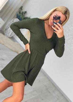 Платье осень весна