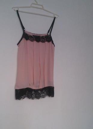 Стильная блуза блузка топ (топик майка) dorothy perkins, размер s (44 укр)