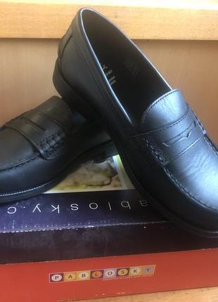 Туфли паблоски в школу