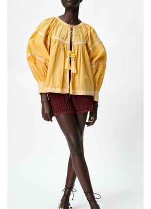 Блуза, вишиванка, рубашка