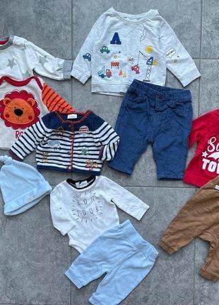 Набор вещей на малыша