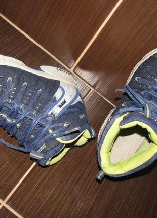 Демисезонные ботинки meindl 32размер