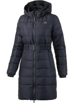 Пуховое жіноче пальто adidas timeless. оригінал хs м, l