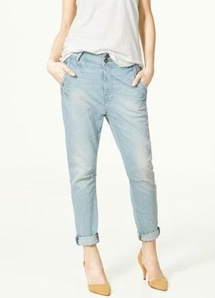 Zara baggy джинсы premium wash