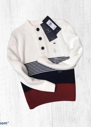 Джемпер свитер tommy hilfiger оригинал на мальчика 4 года 104 см