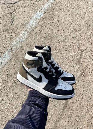 Nike jordan retro 1 dark mocha brown white