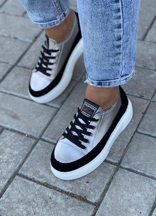 Кросівки кроссовки натуральная кожа