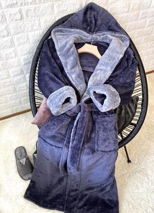 Мужской халат махровый