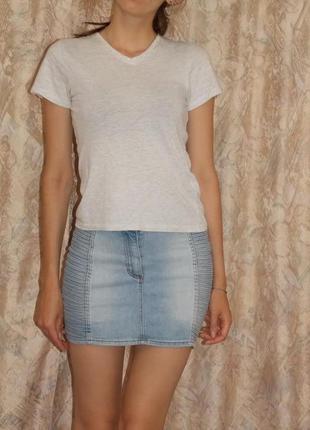 Джинсовая юбка h&m2