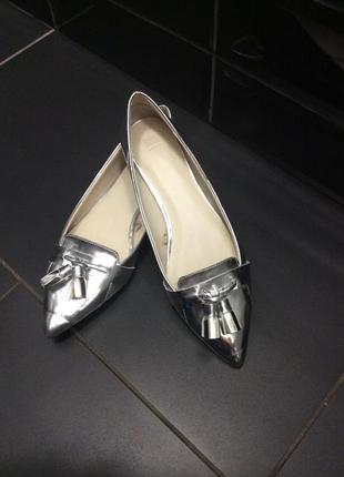 Балетки туфли zara