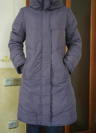 Поделиться:  vero moda утепленное пальто р-р с-м