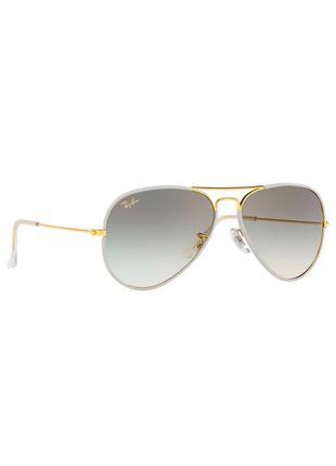 Солнцезащитные очки ray ban full white