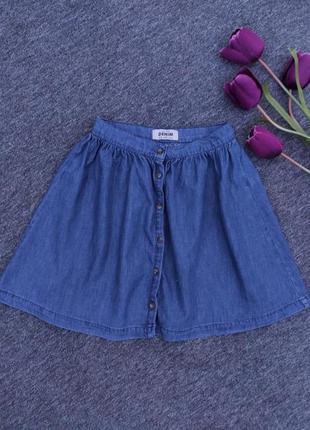 Юбка джинсовая с пуговицами