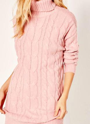 Большой выбор одежды до 100грн/объёмный розовый свитер