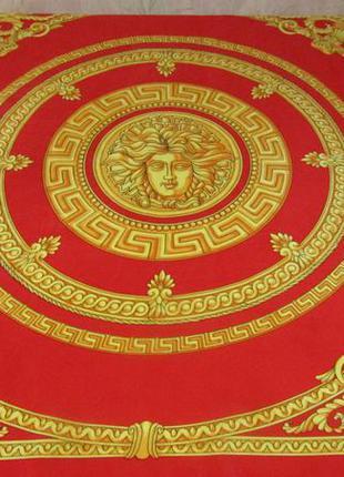 Ультрамодный , красивый платок из полиестра / gianni versace /