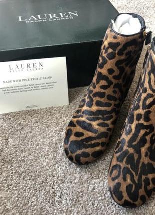 Ralph lauren чобітки зі звіриним принтом