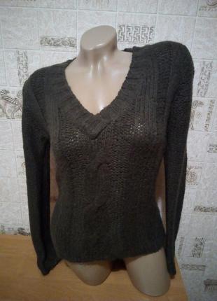 Коричневый джемпер/свитер